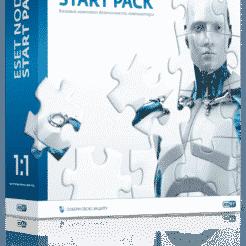 ESET NOD32 Start Pack 1 год на 1 ПК