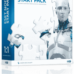ESET NOD32 Start Pack 1 год на 1 ПК