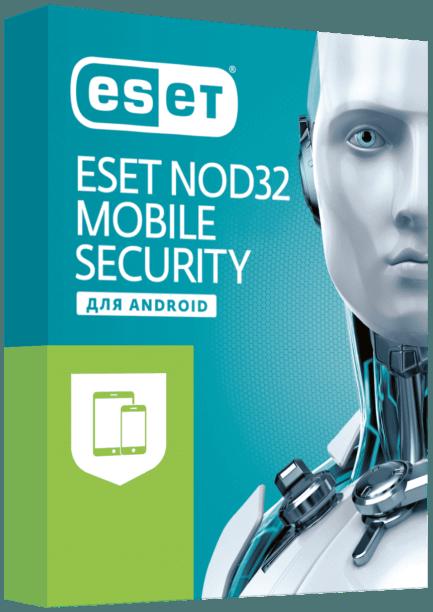 ESET NOD32 Mobile Security 1 год на 1 устр
