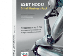 ESET NOD32 Small Business Pack newsale for 5 users