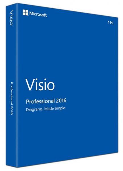 Visio профессиональный 2016