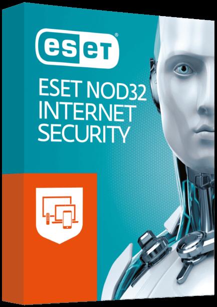 ESET NOD32 Internet Security - лицензия на 1 год на 3ПК