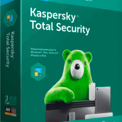Kaspersky Total Security - 1 год на 2 ПК