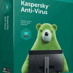 Kaspersky Anti-Virus - 1 год на 2 ПК